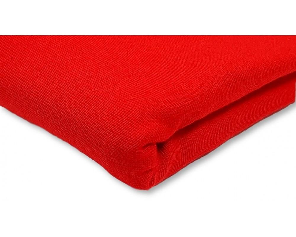 Medvilninis trikotažas (jersey) Raudonas