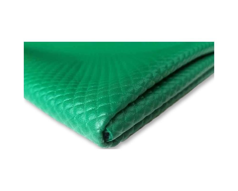 Dygsniuotas trikotažas Žalias