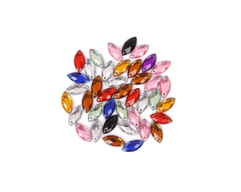 Prisiuvami kristalai 15mm