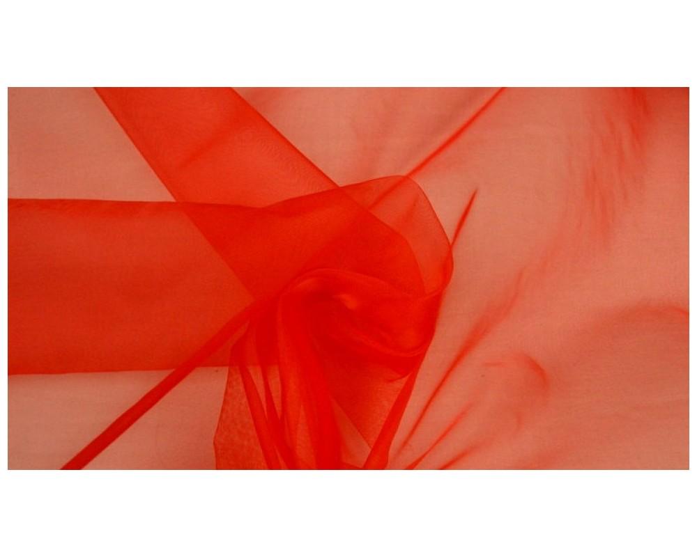 Organza Raudona