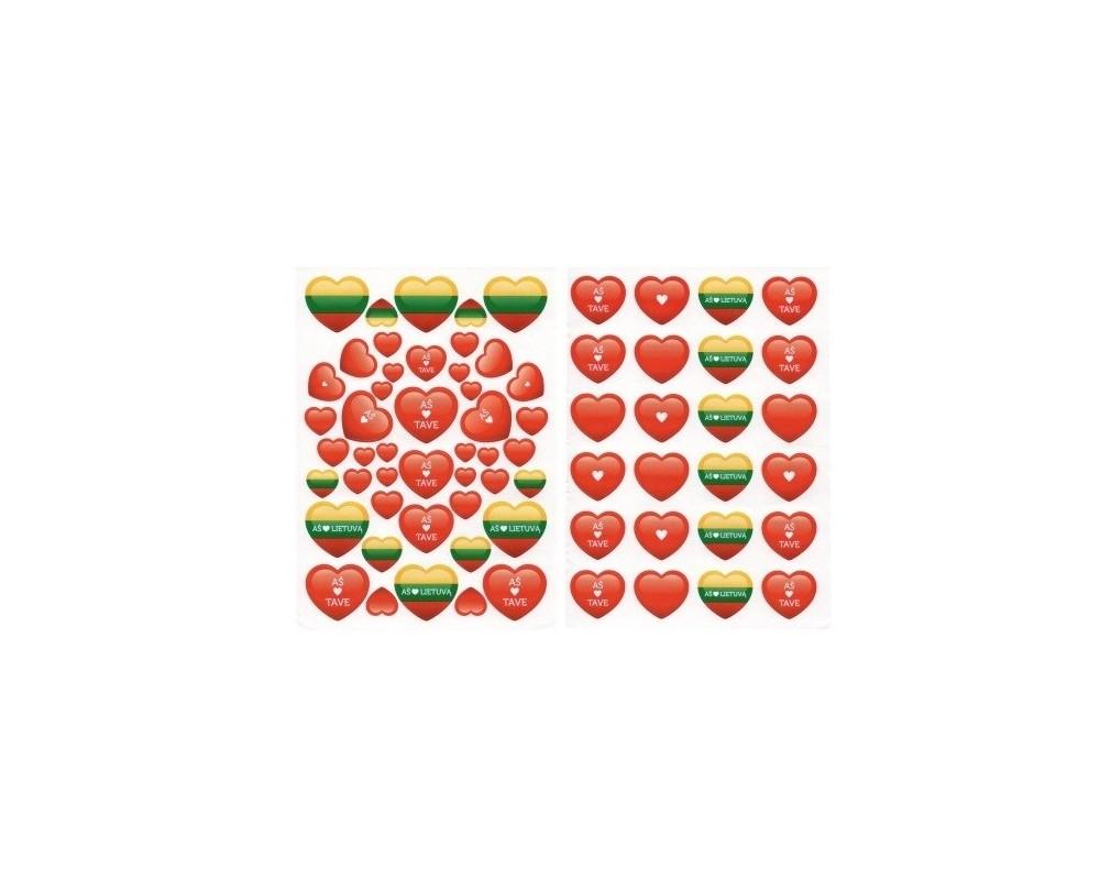 Lipdukai Aš myliu Lietuvą