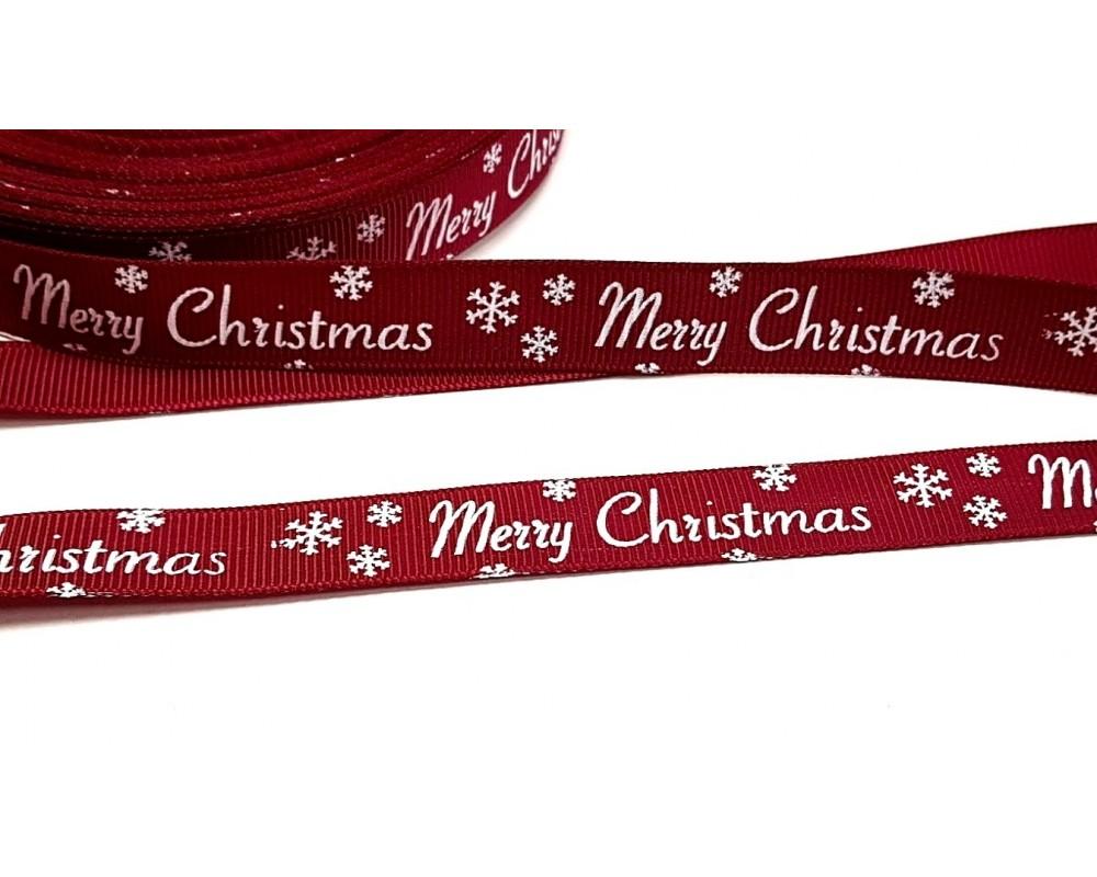 Juostelė 16mm Merry Christmas