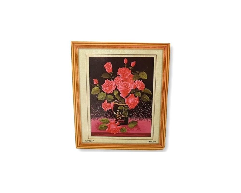 Siuvinėjimo paveikslas (Rinkinys) Rožės