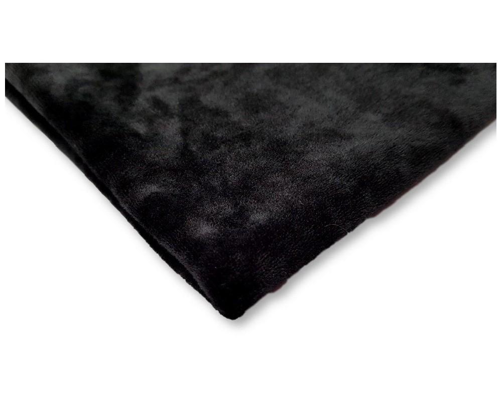 Veliūras Soft Juodas