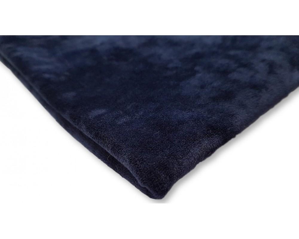 Veliūras Soft Tamsiai mėlynas