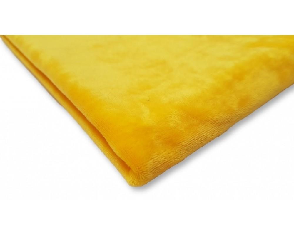 Veliūras Soft Geltonas