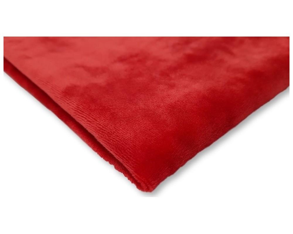 Veliūras Soft Tamsesnė raudona