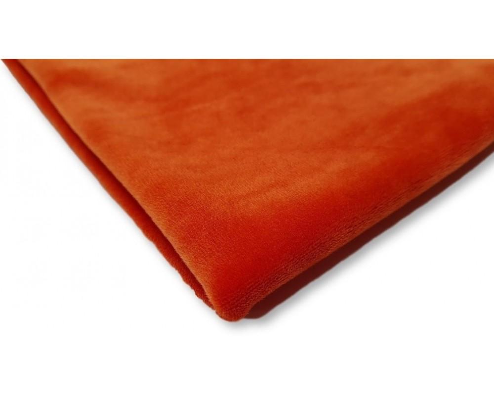 Veliūras Soft Oranžinis