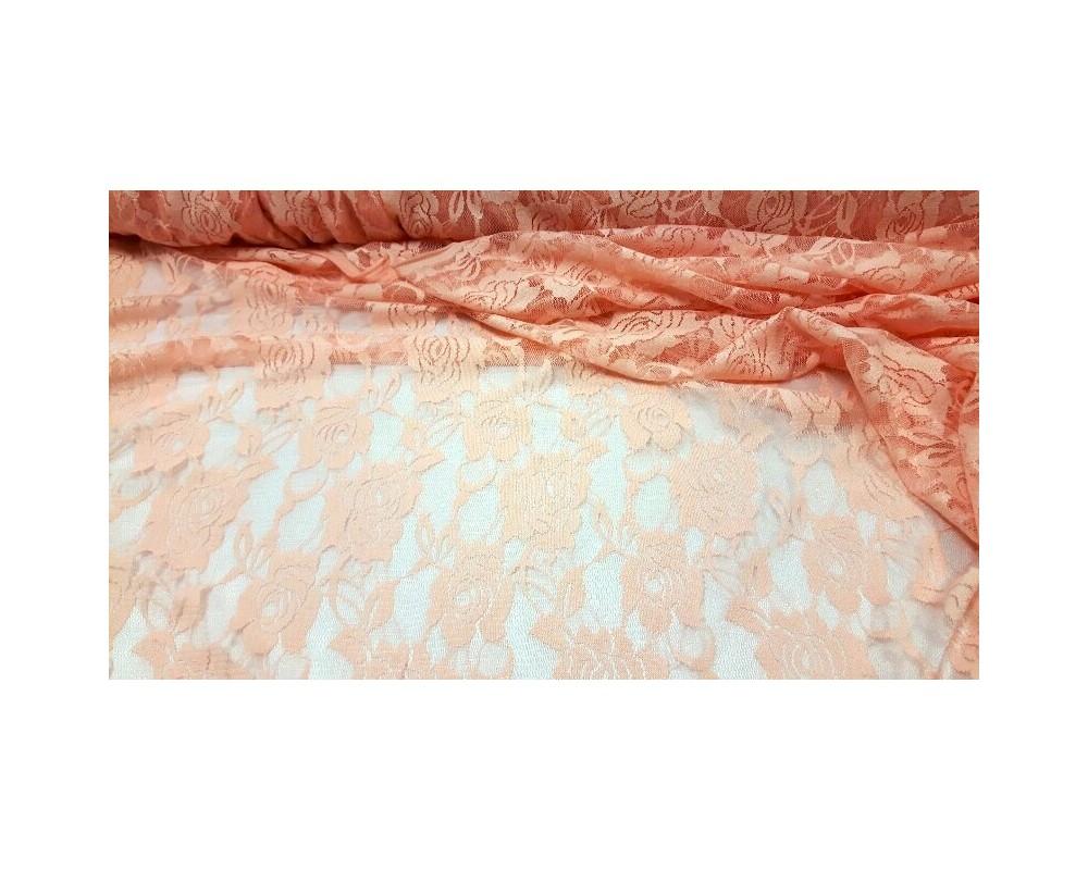 """Elastinis gipiūras,,Rožinė/persiko"""""""