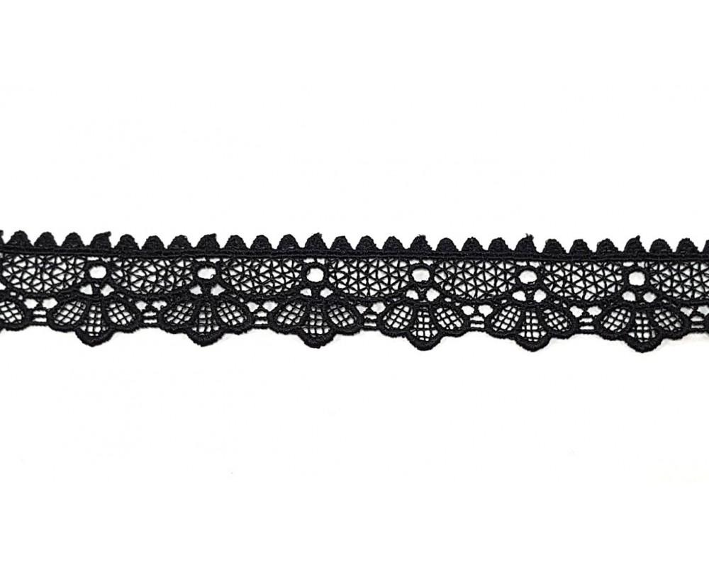 Nėrinys 35mm Juodas