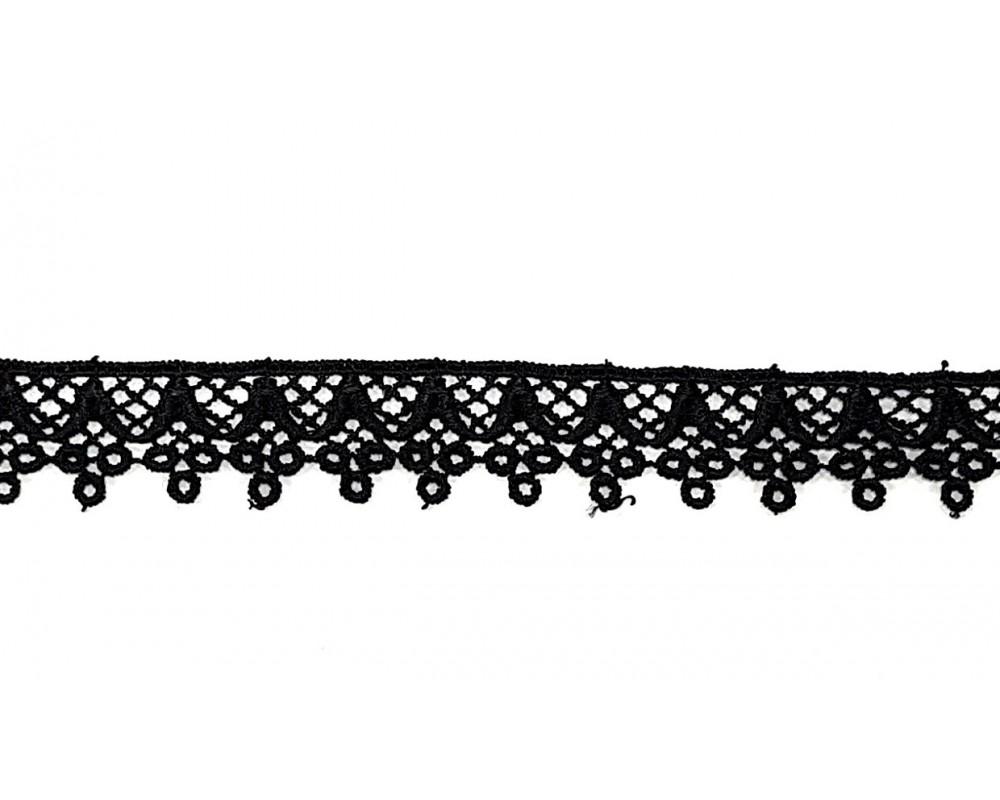 Nėrinys 21mm Juodas