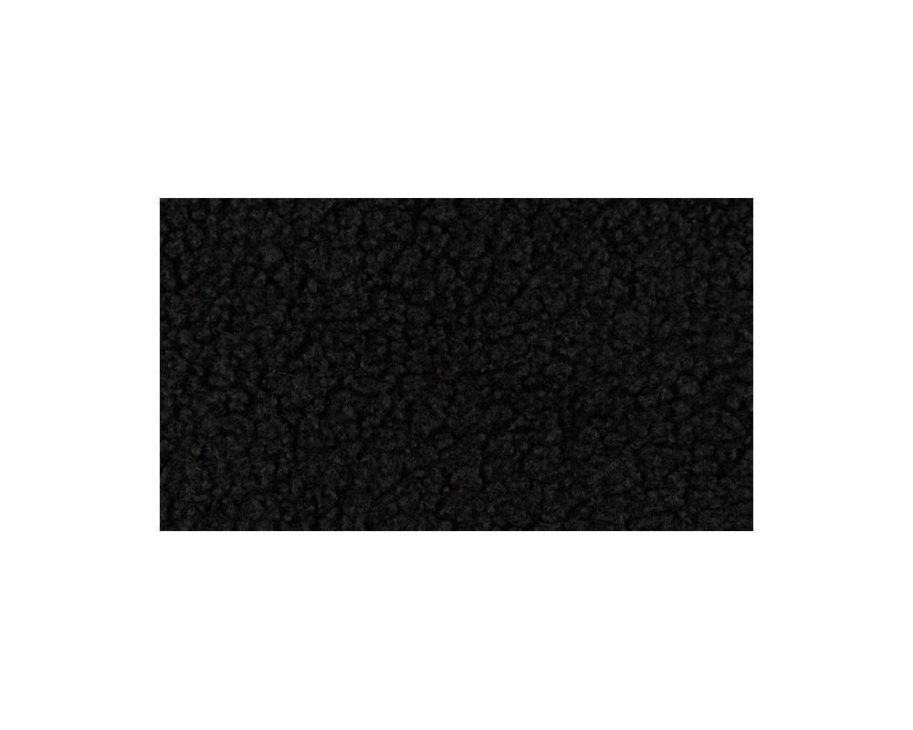 Trikotažas teddy Juodas