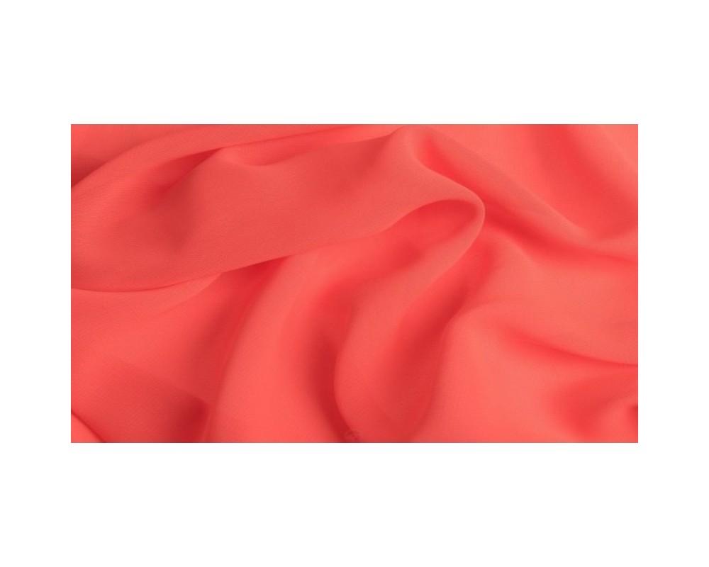 """Šifonas ,,Neoninė rožinė/oranžinė"""""""