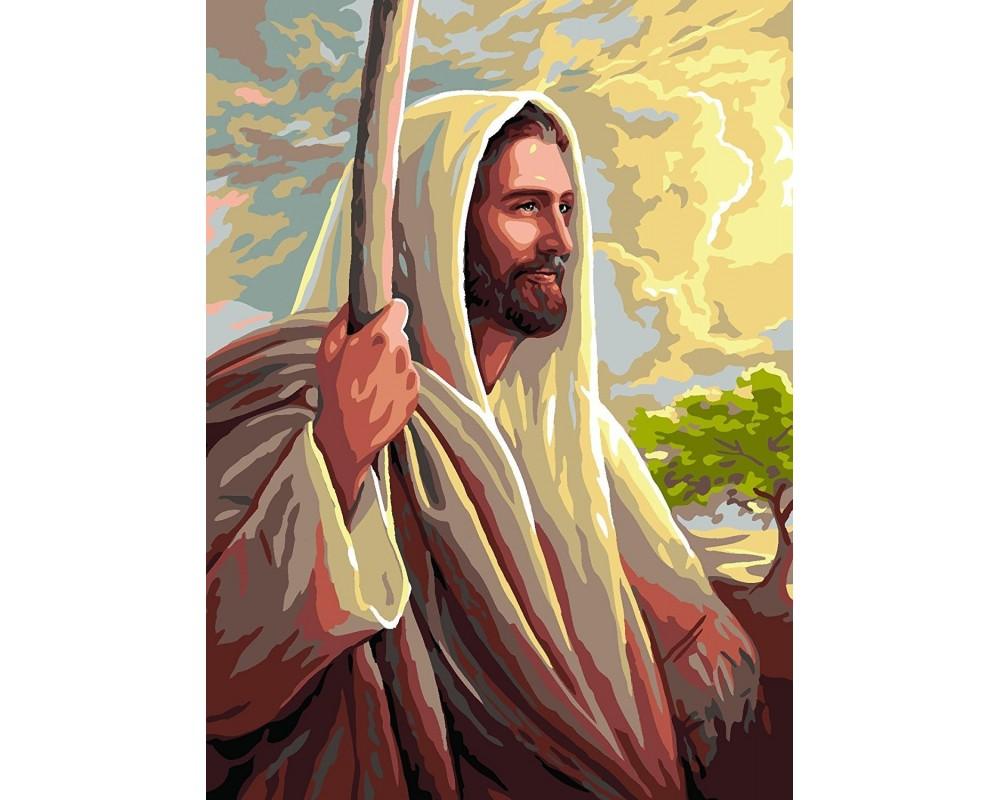 """Siuvinėjimo paveikslai """"Jezus"""""""