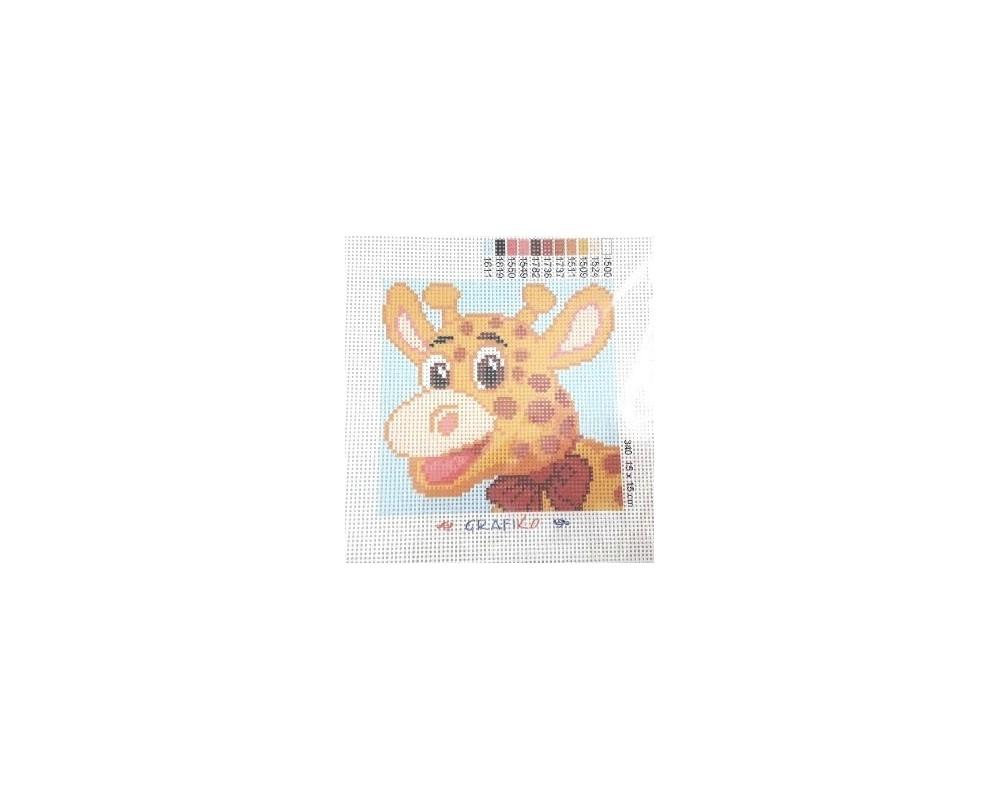 """Siuvinėjimo paveiklas """"Žirafa"""""""