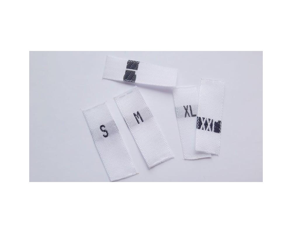 Etiketės S - XXL