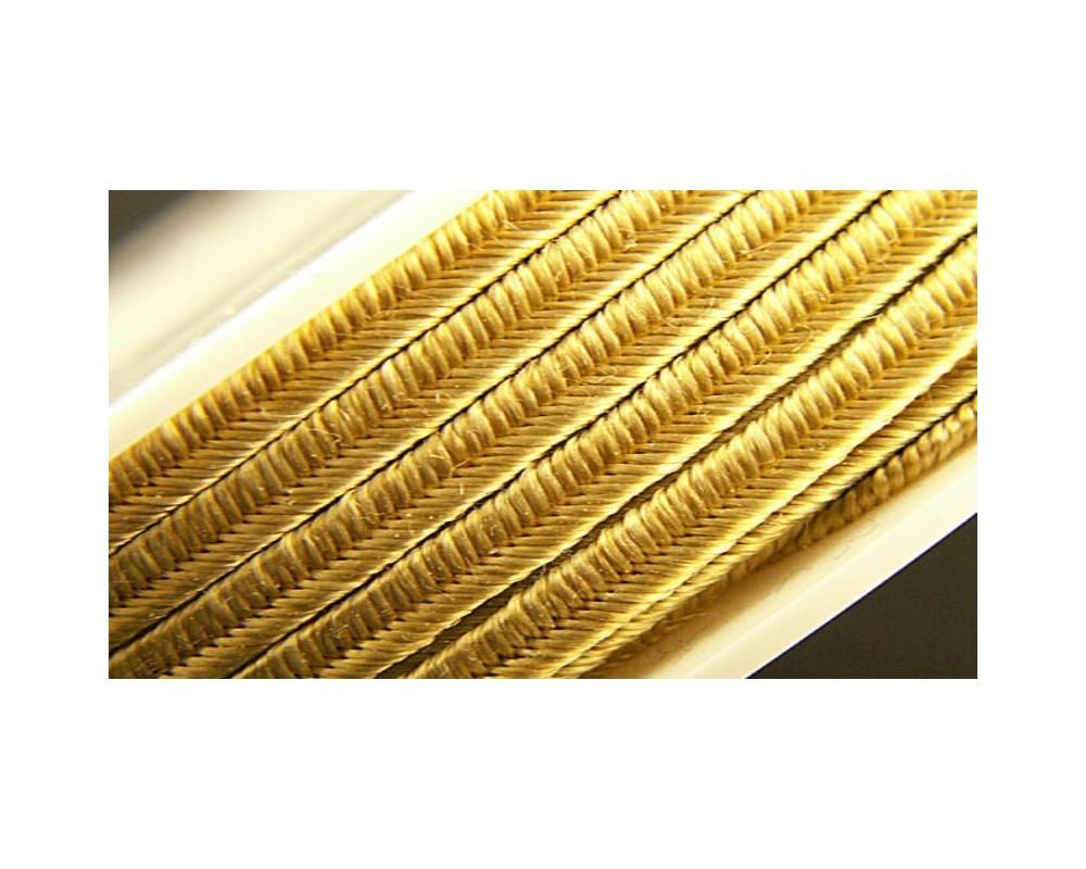 Metalizuota sutažo juostelė 3mm