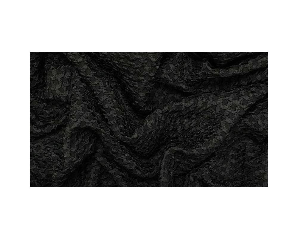 Žakardinis audinys Juodas Koriukas