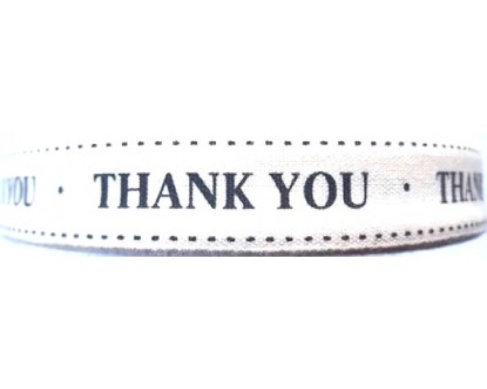 """Dekoratyvinė juostelė,,Ačiū"""""""