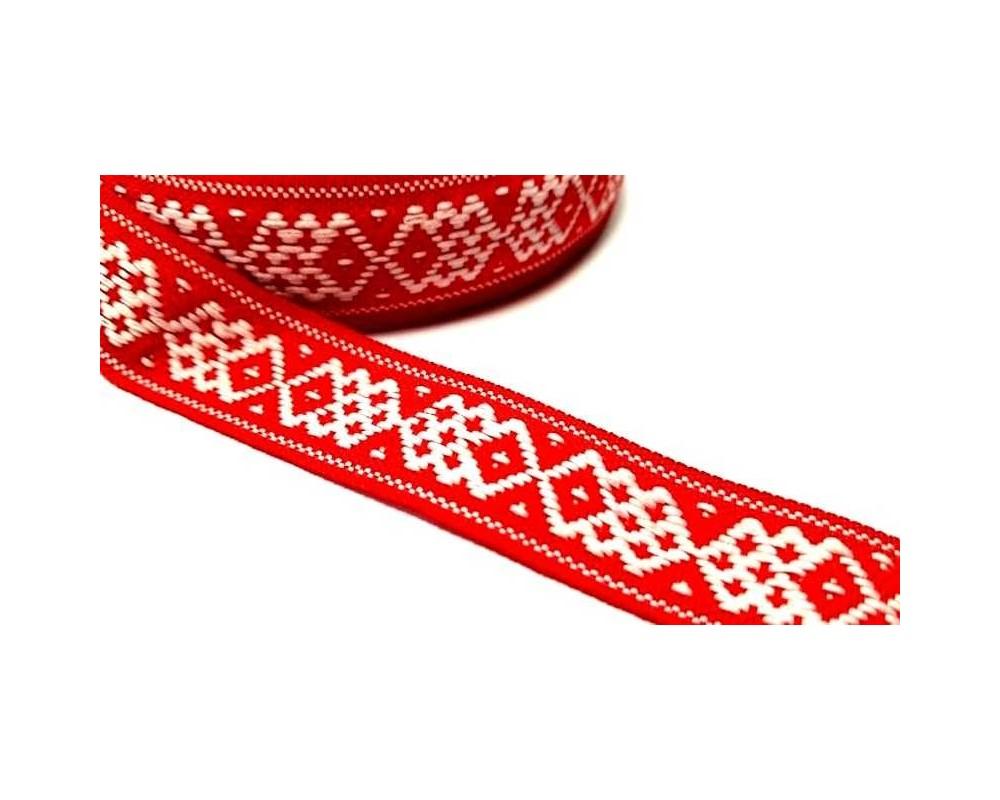 Tautinė juostelė Raudona/Balta